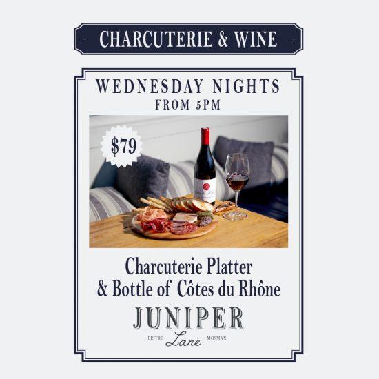 Charcuterie & Wine Wednesdays