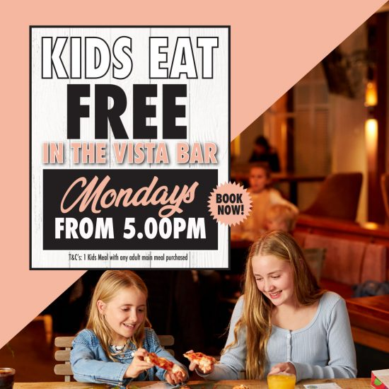 Kids Eat Free at the Buena on Mondays