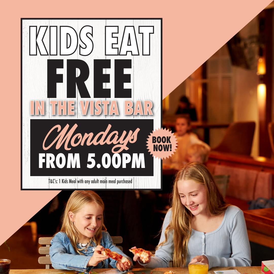 Kids Eat Free at the Buena on Mondays